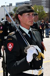 Major Catherine Wollocombe